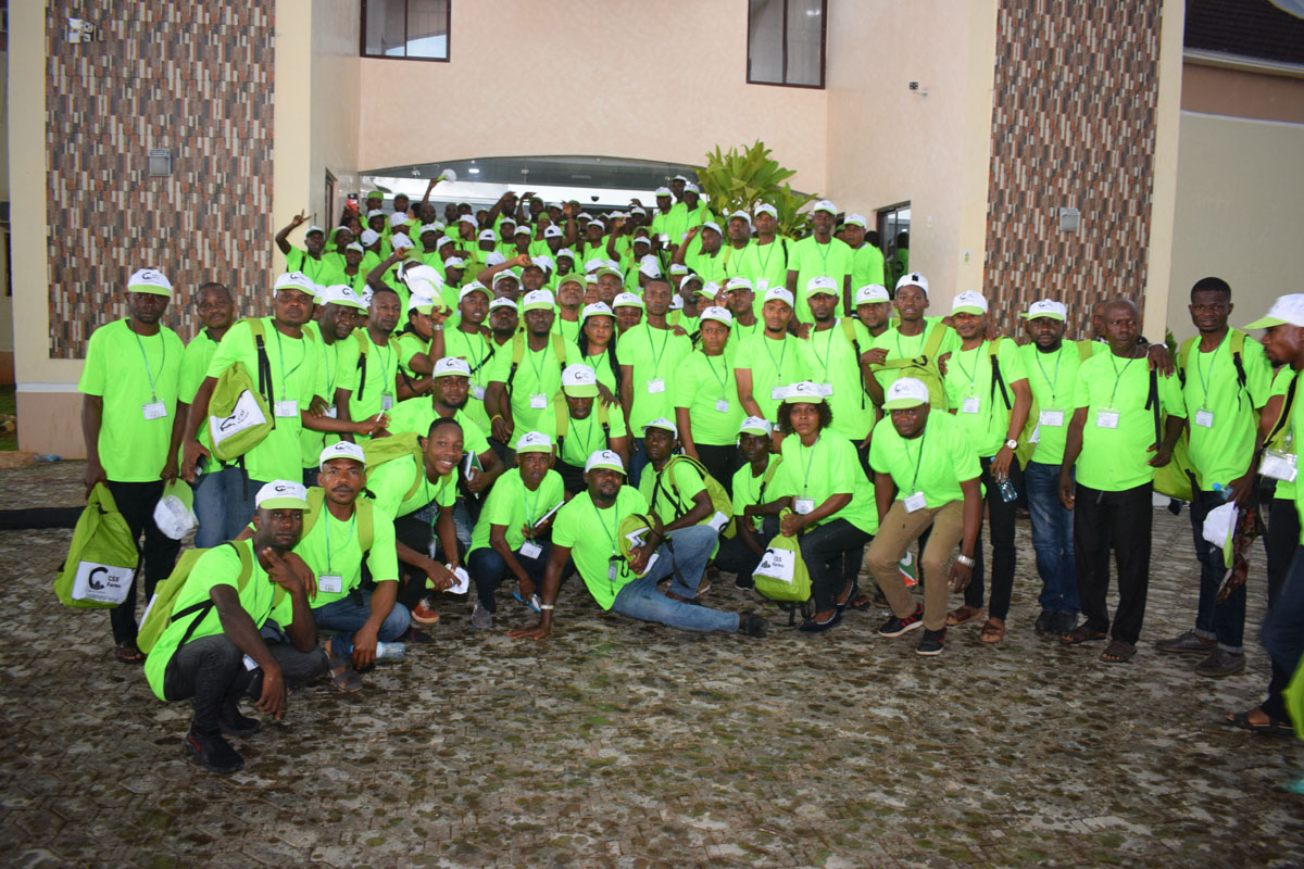 CSS Farms Hosts Trainees From Abia State at the International Skill Acquisition Centre (ISAC)