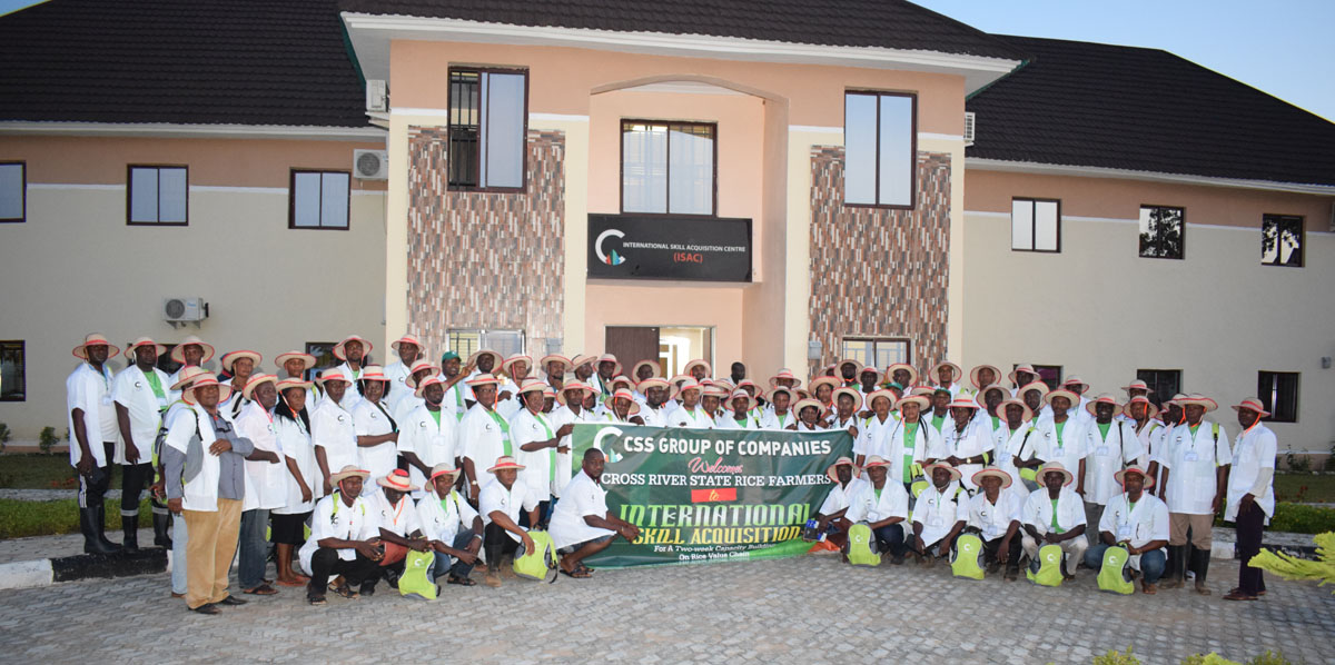 CSS Farms Trains Farmers from Cross River State on Modern Agricultural Techniques
