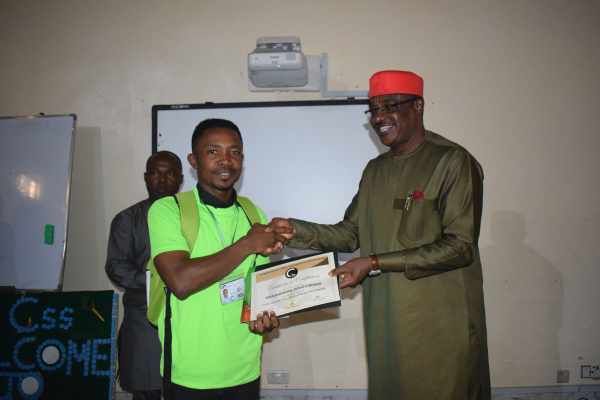 First Set of Youths from Imo State Complete Agricultural Training Program