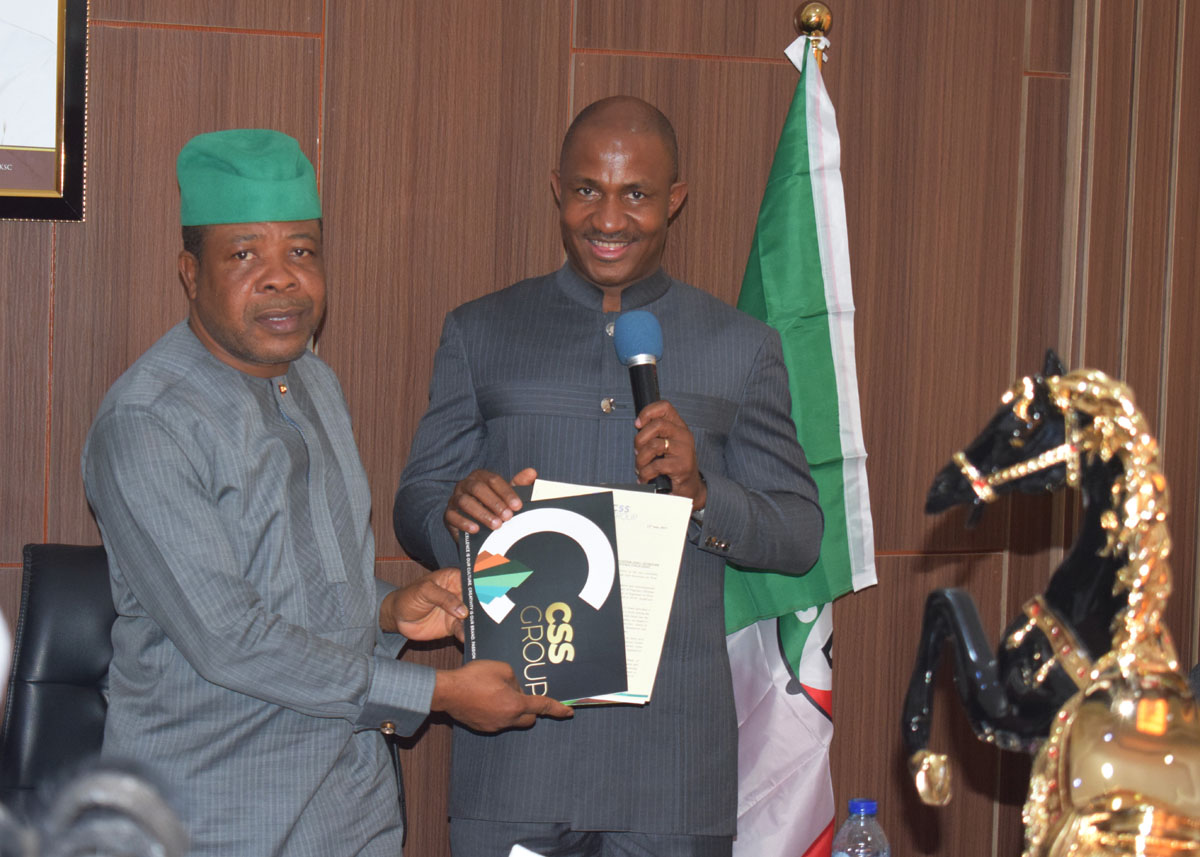 Signing of MOU with Imo State Government for Training of Imo Youths in Agriculture