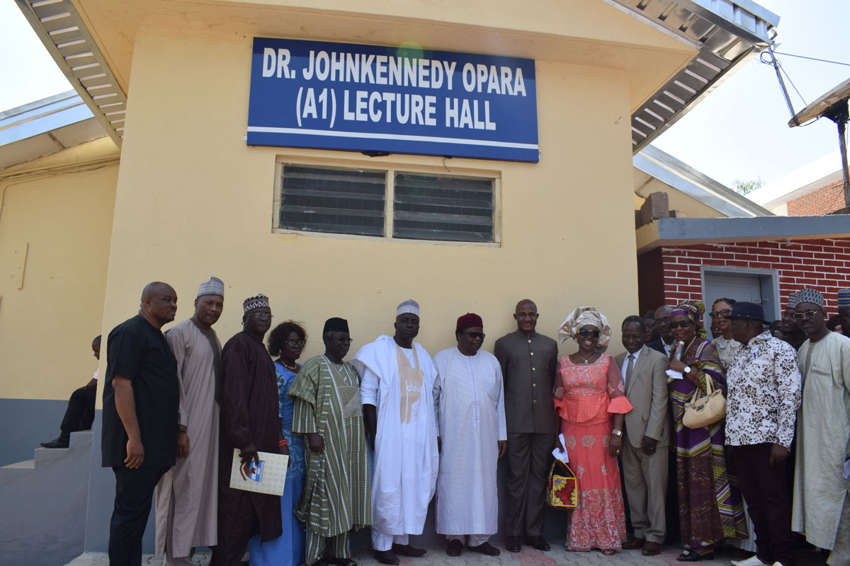 Chairman, CSS Group Rebuilt and Renovated the popular A1 Study Hall at the University of Jos